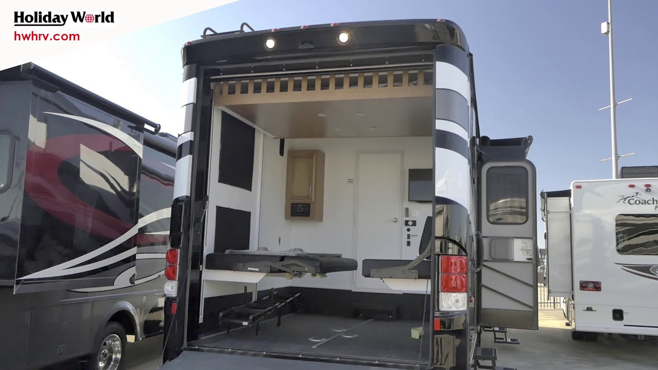 2017 newmar canyonstar 3921 class a gas motorhome with a for Class a rv with car garage