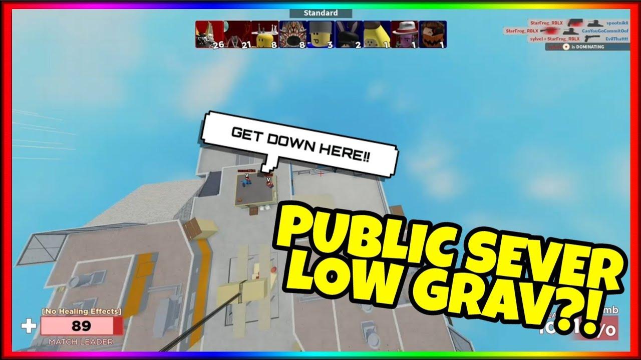 Low Gravity Roblox