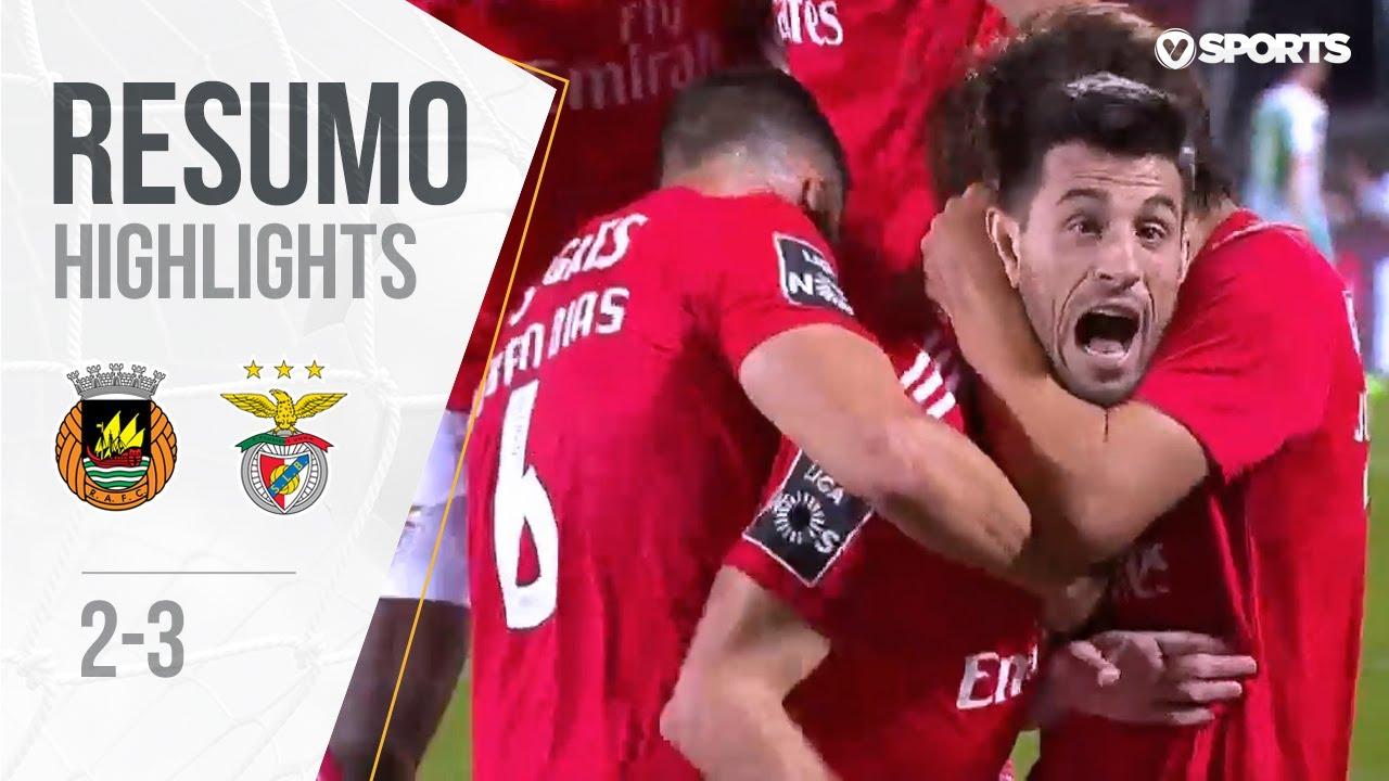 Highlights Resumo Rio Ave 2 3 Benfica Liga 18 19 33 Youtube