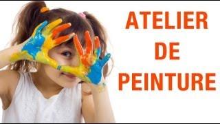 Un atelier de peinture où les petits peuvent se ressourcer !