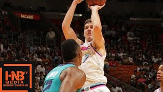 Miami Heat vs Charlotte Hornets Full Game Highlights / Jan 27 / 2017-18 NBA Season