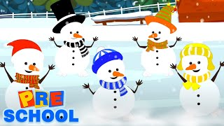 Five Little Snowman | Christmas Songs For Kids | Merry Christmas | Xmas Song