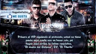 "Daddy Yankee Ft. Farruko, J Alvarez  - ""Explosion"" (Como Baila) con Letra ★New Reggaeton 2012★"