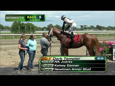 video thumbnail for MONMOUTH PARK 6-16-19 RACE 5