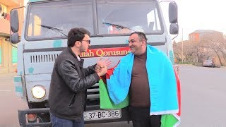"""""""KAMAZ"""" Sürücüsü - Qeyri Adi Hərəkət"""