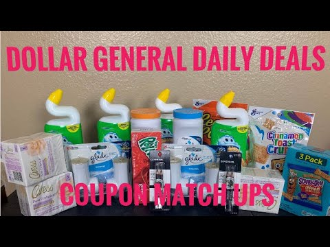 Dollar General  Daily Coupons Deals You Can Do Now  3/22- 3/28