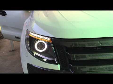 Ford Ranger T6 Lexus HID retrofit