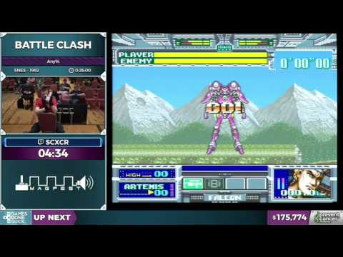 Battle Clash by scxcr in 13:58 - Awesome Games Done Quick 2017 - Part 31