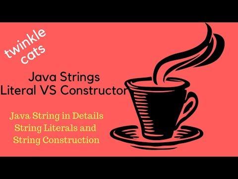 3. Java String: Literal vs Constructor in Details