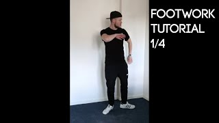 Footwork Tutorial 1/4 - Chicago (Mike & Ikes)