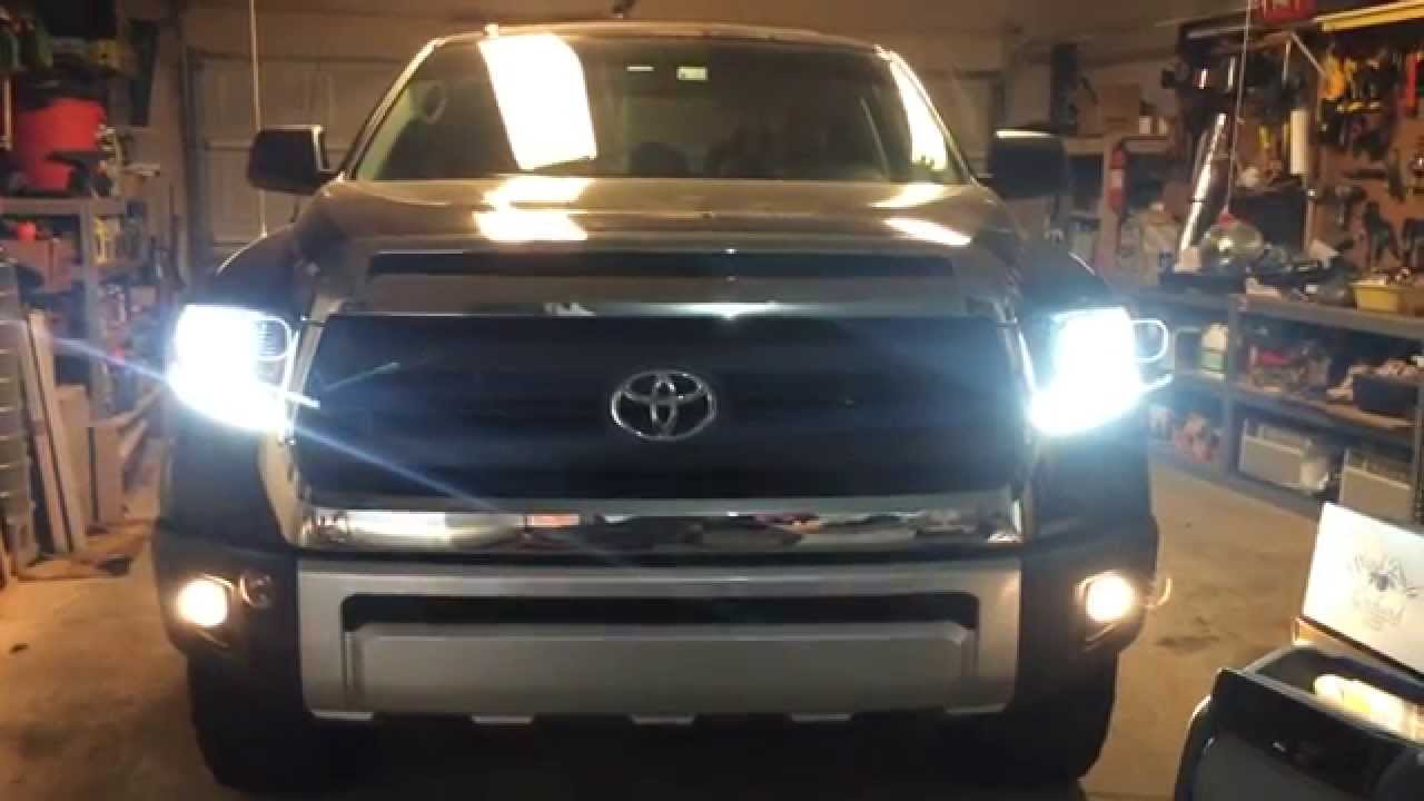 2014 Toyota Tundra 1794 Edition Diy Projector Headlight