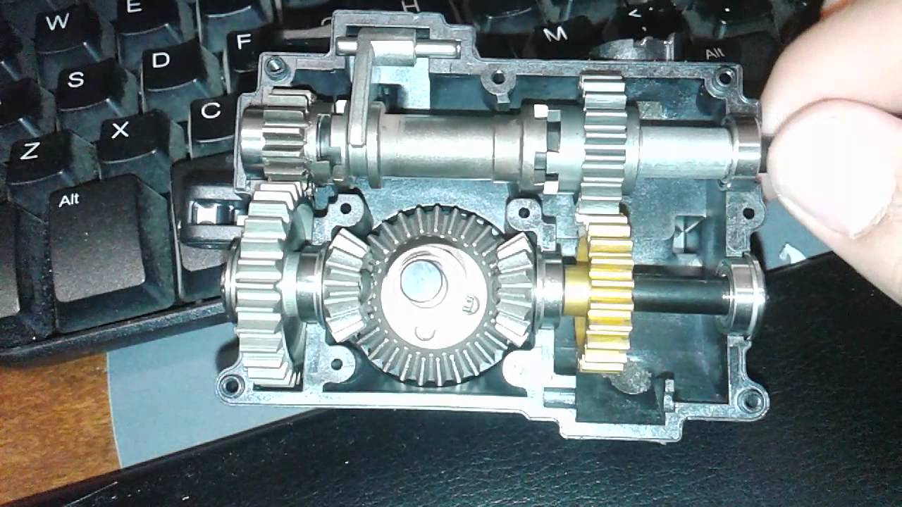 Forward Reverse Transmission : Losi lst xxl forward with reverse transmission gear works