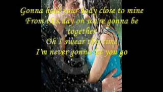 never gonna let you go LYRICS