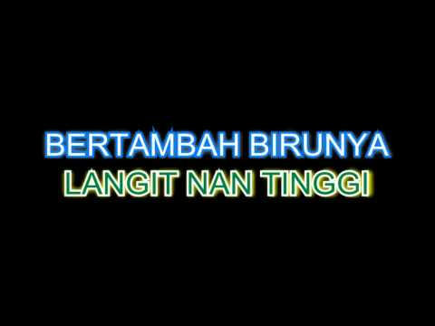 Sudirman - Balik Kampung - Karaoke (minus one + lyrics)