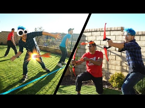 ARROW TO THE NUTS!! | Arrow Dodge Challenge