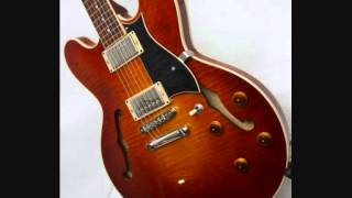 Jazz Blues guitar Backing Track in Dm