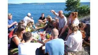slideshow summercamp 2015 at Elsebråne Retreat center