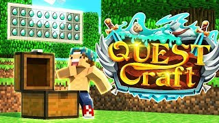THE SEARCH FOR DIAMONDS! | Quest Craft #4