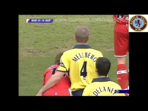 Middlesbrough 0 Aston Villa 4 - Barclays Premiership - 4th Feb 2006
