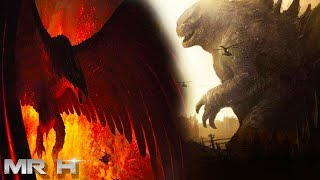 Godzilla King Of The Monsters Official Concept Art Revealed & Mothra Fairies Teased