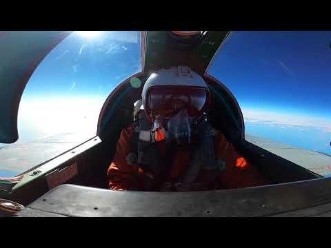 Воздушный бой в стратосфере истребителей МиГ-31 морской авиации ТОФ