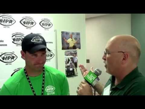 Jake Delhomme at Manning Passing Academy - July 10, 2015
