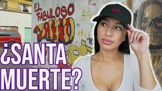 Finding Santa Muerte in Mexico City (Tepito Travel Vlog)