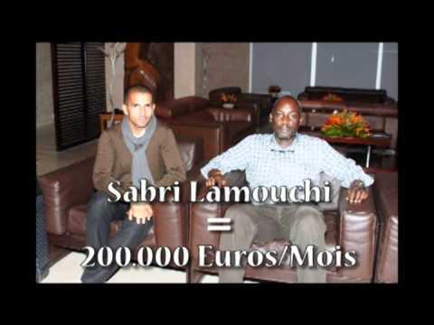 Sabri Lamouchi vaut 200.000 Euros par mois