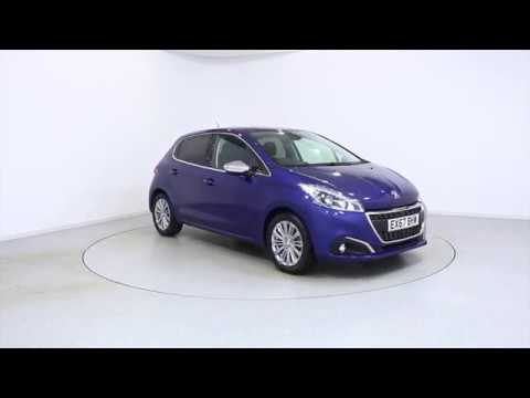 Used Peugeot 208 EX67BHW | Frosts4Cars Chichester and Shoreham by Sea