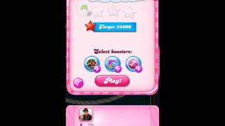 Candy Crush Saga Dreamworld  level 665 ending