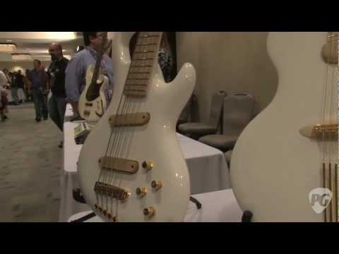Montreal Guitar Show '11 - Jens Ritter Instruments