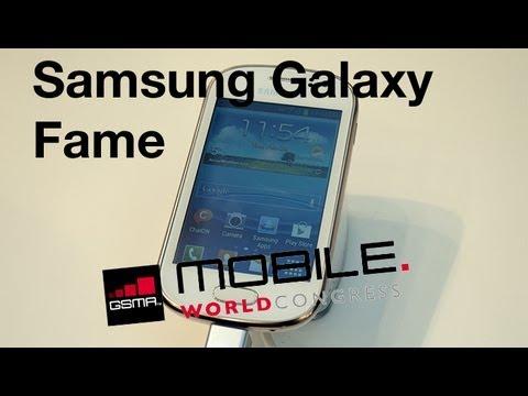 MWC 2013 Probamos el Samsung Galaxy Fame