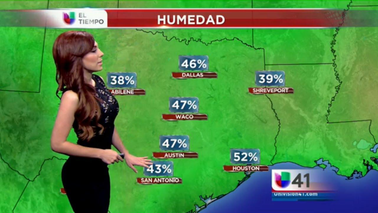 Prissila S 225 Nchez Clima 20 10 2014 Univision San Antonio