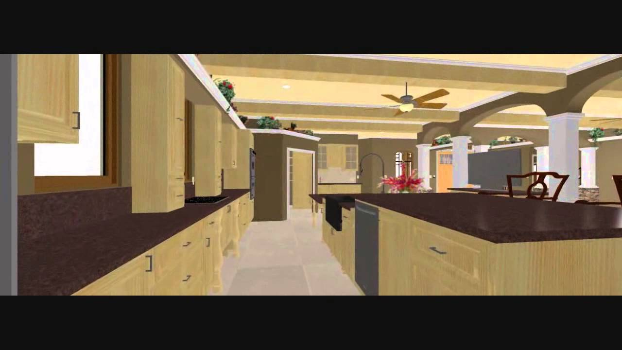 Conroe House Plans Custom Home Design chief architect design ...