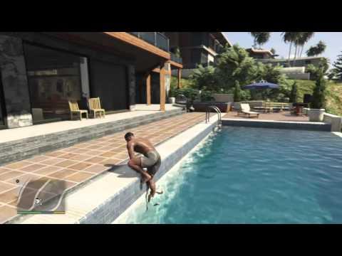 Gta 5 (PS4) Yüzen Adam