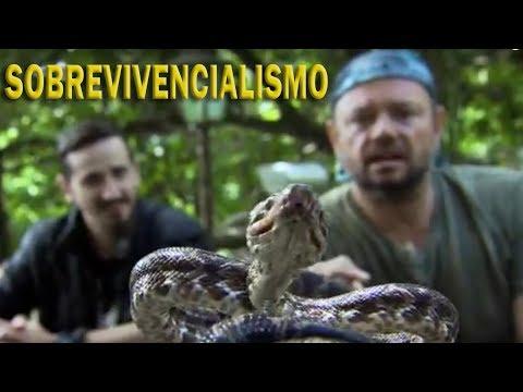 RECEBI JULIO LOBO DO CANAL SOBREVIVENCIALISMO EM CASA! | RICHARD RASMUSSEN
