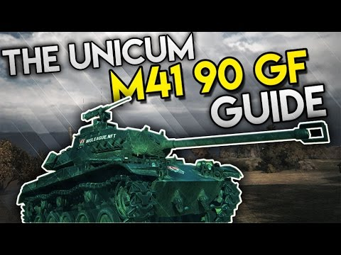 World of Tanks - A Unicums leKpz M41 90 GF Review & Guide