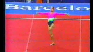 1992 Olympics - Gymnastics Compulsories.. Part 1 - a different perspective.....