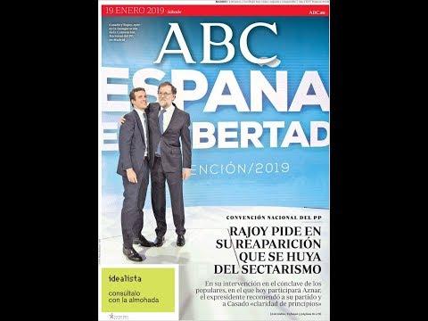 #Noticias Sábado 19 Octubre 2019 Titulares Portadas Diarios Periódicos España Spain #News