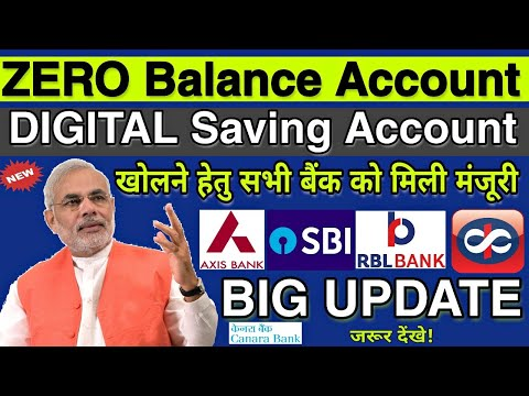 Zero Balance Account Online Opening Big Update || Digital Saving Account Opening || Axis Bank ASAP🔥