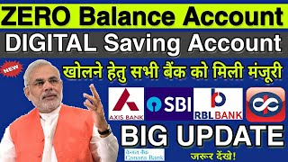 Zero Balance Account Online Opening Big Update || Digital Saving Account Opening || Axis Bank ASAP🔥