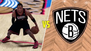 CAN ALLEN IVERSON BEAT THE WORST NBA TEAM BY HIMSELF? NBA 2K17