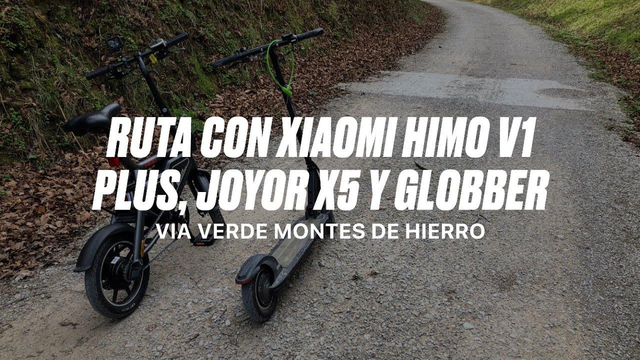 Route With Xiaomi Himo V1 Plus Joyor X5 Globber Primo