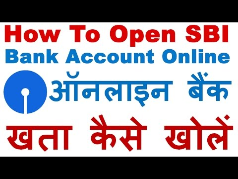 How to Open SBI Account Online Step By Step Process (Opening Bank Account Online In SBI) Hindi