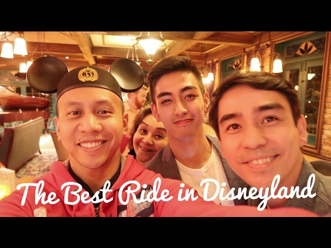 THE BEST RIDE IN DISNEYLAND (feat. Michael Martinez)! | March 27th, 2017 | Vlog #66