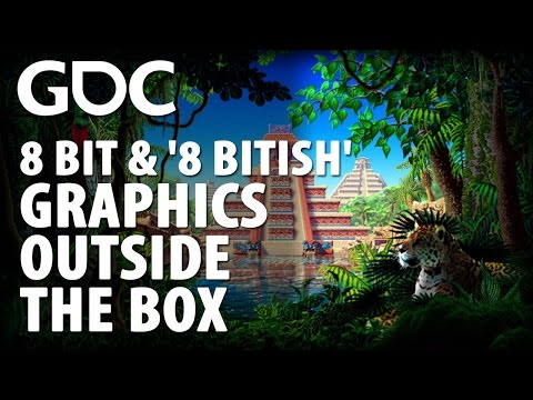 8 Bit & '8 Bitish' Graphics-Outside the Box
