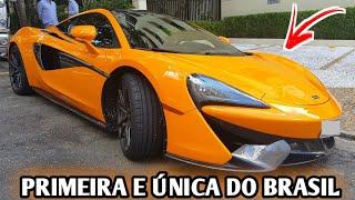 ANDEI NA UNICA MCLAREN 570s DO BRASIL - CVBR #272