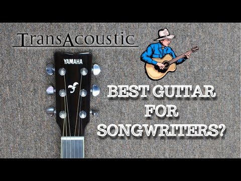 SONGWRITING INSPIRATION: Yamaha Transacoustic FG-TA Acoustic Guitar Demo