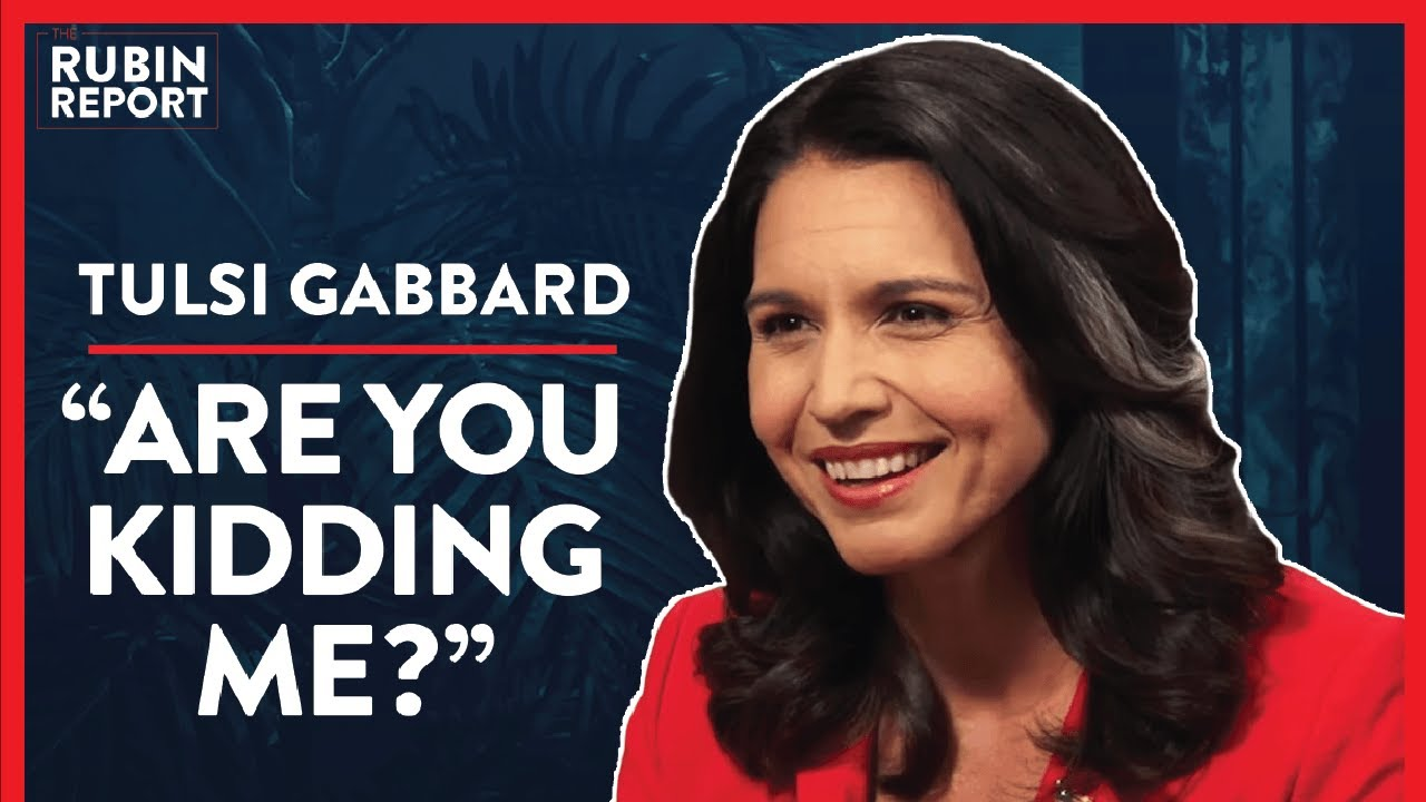 A Crazy Question From Media & DNC Losing Voter Trust | Tulsi Gabbard | POLITICS | Rubin Report