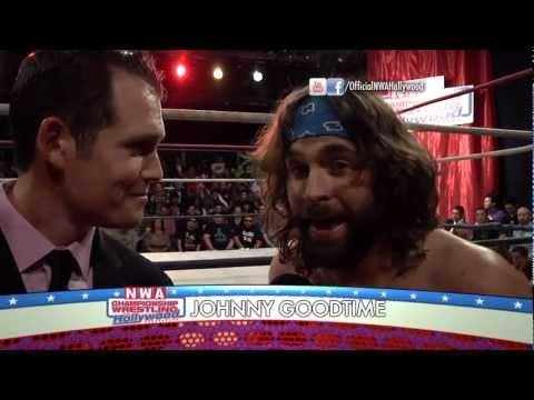 The Happening (Joey Ryan & Johnny Goodtime) Vs. Angel Lopez And Eric Cross - NWA Hollywood (5/20/12)